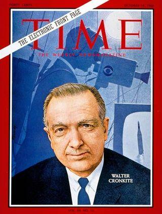Walter Cronkite Time Magazine